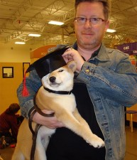Graduating Puppy School